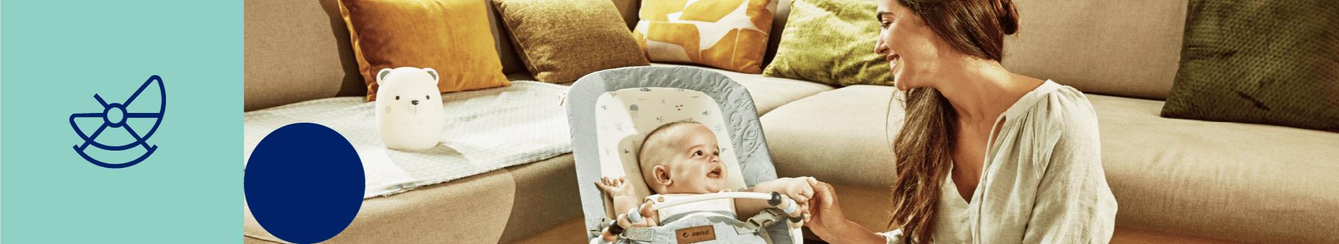 Transats Jané | Les meilleurs balancelles et transats pour bébé | Jané